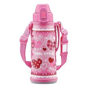 象印 ( ZOJIRUSHI ) 水筒 直飲み スポーツタイプ ステンレスクールボトル 0.52L ピンク SD-AL05-PA|tachibanamarketpro
