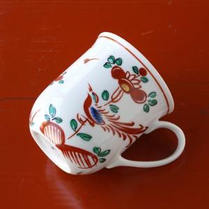 マグカップ たち吉 赤絵花鳥マグカップ 1個 209-0182 おしゃれ ブランド 和食器 贈り物