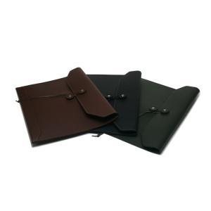 iPad Air用封筒型レザーケース|tackcraft