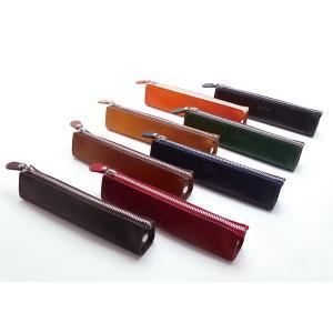 栃木レザーペンケース ベジタブルタンニンレザー使用 全8色|tackcraft