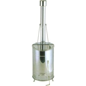 落ち葉焼却器 OED-80S [家庭用 ステンレス焼却器]|tackey