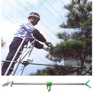 アルミ三脚用 遠近調整剪定 支持棒 希棒 8尺〜12尺用  ミツル 明日つく|tackey