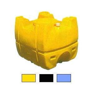 (個人宅配OK) モリマーサム樹脂工業 ローリータンク SL-300 黄色・黒色・スカイブルー色 3...