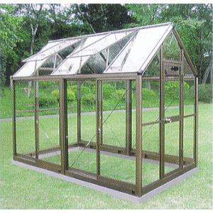 アルミ製 ガラス温室 チャッピーB1.5型 1.5坪|tackey
