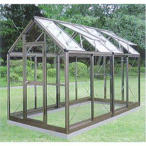アルミ製 ガラス温室 チャッピーB2型 2坪 |tackey