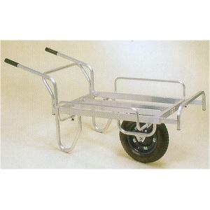 ハラックス コン助 CN-45DS エアータイヤ・ブレーキ無 アルミ製 平型一輪車|tackey