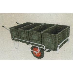 ハラックス コン助 CN-65DWS エアータイヤ アルミ製 平型二輪車