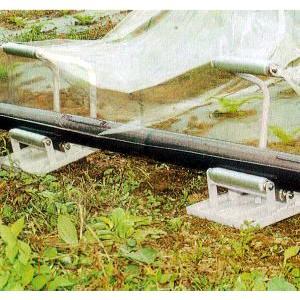 らくらく R-250DX 農ポリ・農ビ 繰り出しローラー台