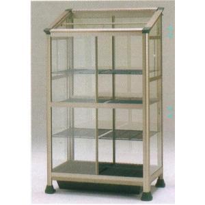 小型温室 FAK-1811BL ライトブロンズ 室内・軒下用 【保温カバー付き】 wata 組立式|tackey
