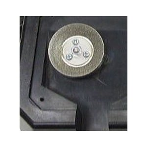 ニシガキ ドリ研用替砥石N-846-1鉄工ドリル研磨機用|tackey