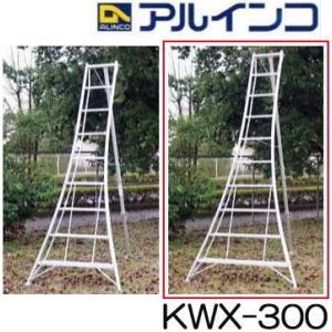 アルミ製 三脚脚立 10尺 300cm KWX-300 アルインコ