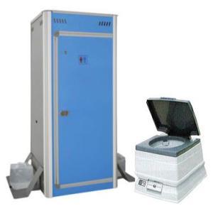 アクト石原 簡易仮設トイレ FOT-003-B キャビンに ポータブル水洗トイレP8L付きセット|tackey