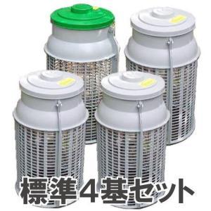生ゴミ処理容器 土中埋め込み式 ミラコンポ PC-300A (4基セット) 広田産業|tackey