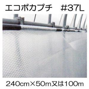 ハウス保温内張り材 エコポカプチ #37L 幅240cm 長さ50mを2巻または100mを1巻選択 tackey
