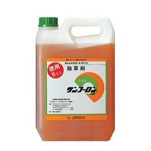 除草剤サンフーロン 5L 送料無料 ラウンドアップ ジェネリック農薬|tackey