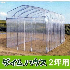ビニール温室 ダイムハウス(ビニールハウス)2坪|tackey
