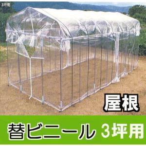 替ビニール屋根用  ダイムハウス(ビニールハウス)3坪用