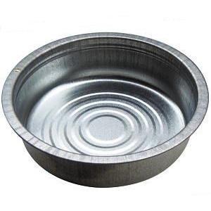 トタンタライ 60cm トタン製タライ 土井金属#28厚み0.4mm(金たらい かなだらい)明日つく|tackey