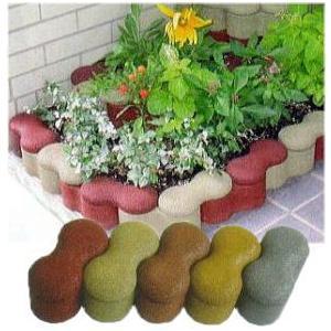 リサイクル花壇用ゴムレンガ ラブリック 10個単位|tackey