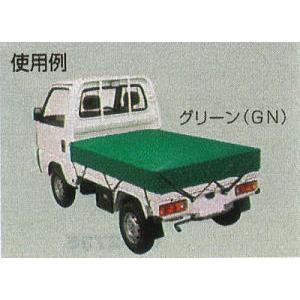 トラックシート 軽トラック用ゴムバンド付 TS-KTA 1.8×2.1M|tackey