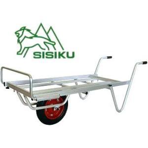 シシク アルミロング台車 平型一輪車 Mタイプ TC-1012|tackey
