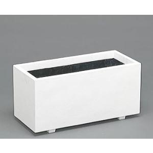 ホワイトプランター W-80型 【ファイバーグラス製】[ホワイト 白 プランター プラスチック]|tackey