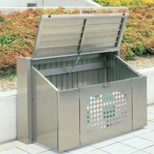 【折りたたみ式】集積保管用 ゴミストッカーCP1型 660L GSCP1-1509SC[ゴミステーション 環境ステーション 大型 集積ゴミ箱 四国化成] tackey