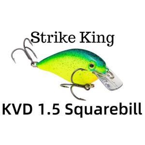 ストライクキング KVD 1.5 サイレント スクエアビル 【送料220円】 tacklegarage-grow