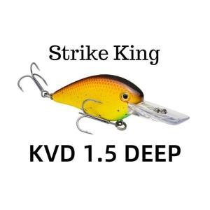 ストライクキング KVD 1.5 ディープダイバー スクエアビル 【送料220円】 tacklegarage-grow