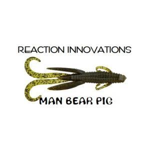 リアクションイノベーションズ(REACTION INNOVATIONS)マンベアービッグ(MAN BEAR PIG) 5インチ|tacklegarage-grow