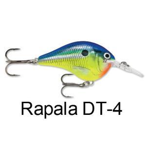 ラパラ(Rapala) DT-4 ダイブストゥ【送料220円】 tacklegarage-grow