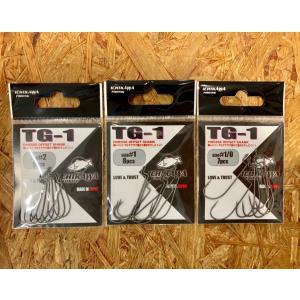 イチカワフィッシング TG-1 オフセットフック 【送料200円】|tacklegarage-grow