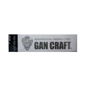 ガンクラフト オリジナルカッティングステッカー Lサイズ|tackleislandsukimaru