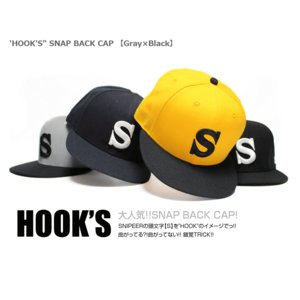 SNIPEER スナイパー SNAP BACK CAP 「HOOK'S」|tackleislandsukimaru