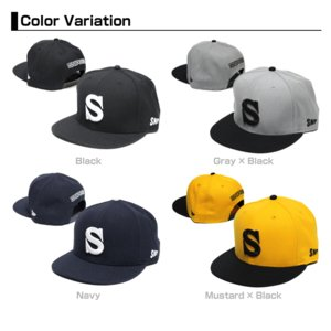 SNIPEER スナイパー SNAP BACK CAP 「HOOK'S」|tackleislandsukimaru|02
