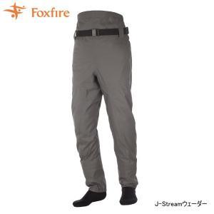 Foxfire フォックスファイヤー J-Streamウェダー チャコール|tackleislandsukimaru
