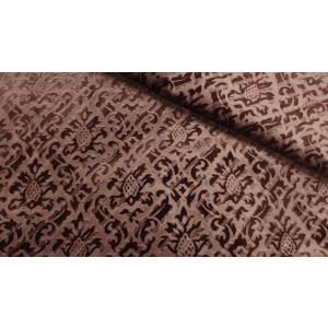 ローレル  シャロン ワイルドベリー パープル 137cm巾 【商品番号:MA0336-PUR-】 taenaka