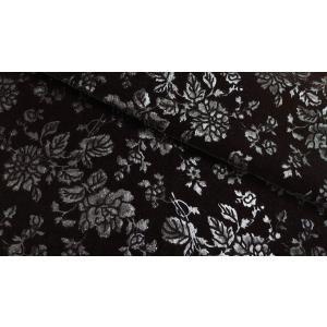プレミアムモケット ロゼ ブラック 137cm巾 【商品番号:MA0338-BK-】 taenaka
