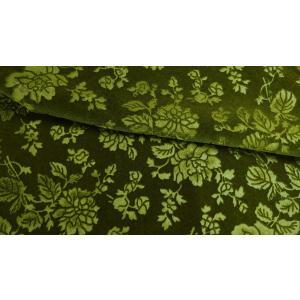 プレミアムモケット ロゼ ライトグリーン 137cm巾 【商品番号:MA0338-LG-】 taenaka