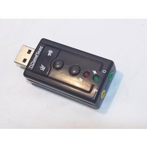 USBオーディオボリューム・ミュートボタン付き ステレオとマイクのジャック 送料140円|tafuon