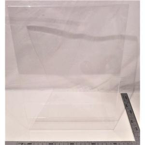 透明A4紙入れ展示ボード(写真立て)  伝振動スピーカーの振動板になる|tafuon
