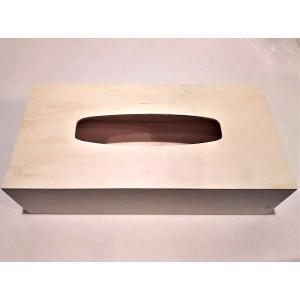BOXティッシュケース 木製  伝振動スピーカーに良い|tafuon