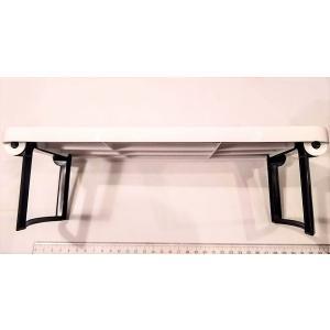 小机ミニテーブル 脚折りたたみ 285×175×85mm 伝振動スピーカー振動板|tafuon