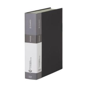 キングジム クリアーファイル シンプリーズ A4S 100P 136-5SP 黒(10セット)