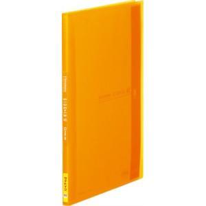 キングジム クリアーファイル シンプリーズ サイドイン A4S 40P 187TSPW オレンジ(10セット)