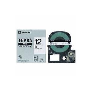 キングジム テープカートリッジ テプラPRO 12mm  SS12K|tag