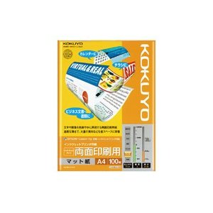 KOKUYO(コクヨ)IJP用紙スーパーファイングレード 両面印刷用A4 100枚KJ−M26A4−100