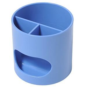 プラス ペン立て ウィッティパーティ WP-110N 30-756 ブルー