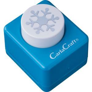 カール事務器  ミドルサイズクラフトパンチCP-2ユキ-C