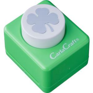 カール事務器  ミドルサイズクラフトパンチCP-2クローバー